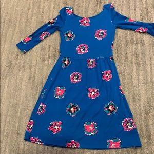 Lilly Pulitzer blue knit dress xs